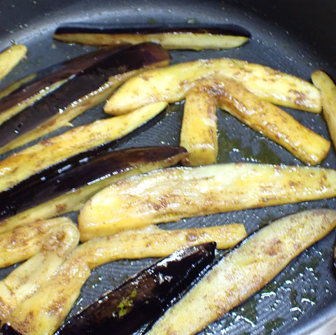 Eggplant and spices