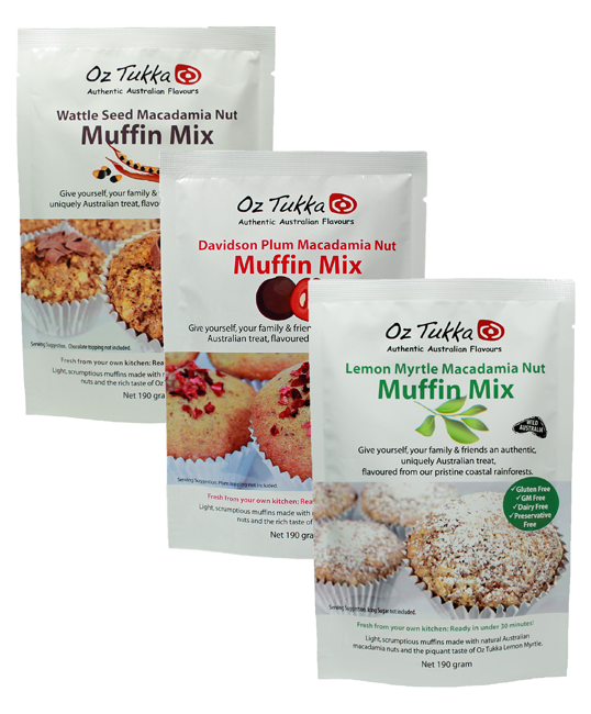 Oz Tukka 3 Packets Muffin Mix