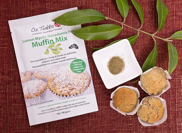 Oz Tukka - Lemon Myrtle Muffin Mix