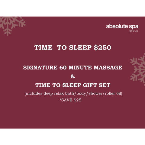 Absolute Spa - TIME TO SLEEP