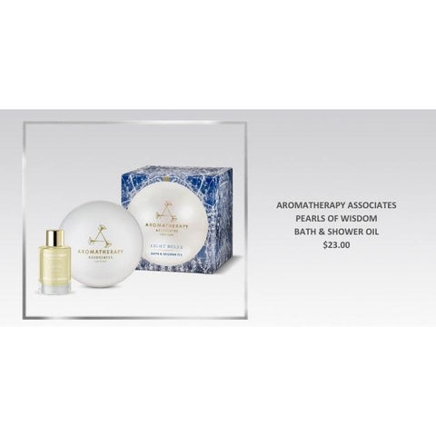 ABSOLUTE SPA - Holiday 2018 Aromatherapy Associates Pearl of Wisdom Bath & Shower Oil