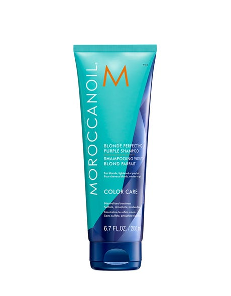 Load image into Gallery viewer, MOROCCAN OIL - Blonde Perfecting Purple Shampoo