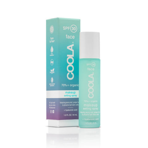 COOLA- Face SPF 30 Make-Up Setting Spray