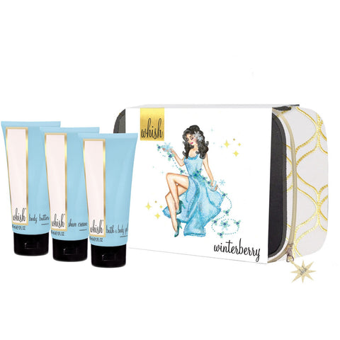 WHISH: Holiday Gift Set - Winterberry 'On The Go'