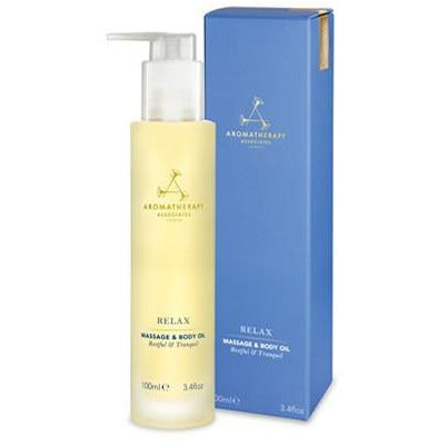 Aromatherapy Associates - RELAX BODY CARE - Relax Massage & Body Oil