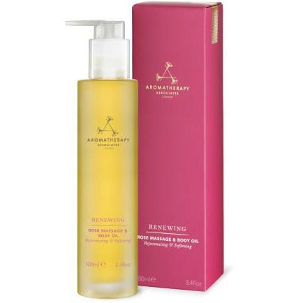 Aromatherapy Associates - RENEWING BODY CARE - Renewing Rose Massage & Body Oil