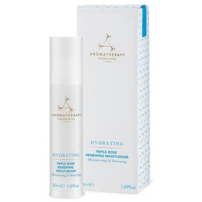 Aromatherapy Associates -  HYDRATING SKINCARE - Triple Rose Renewing Moisturizer