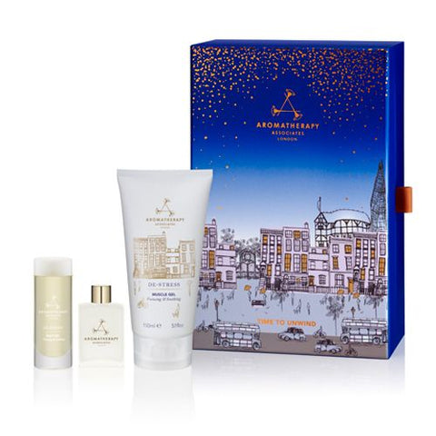 Aromatherapy Associates Holiday 2017 Time to Unwind