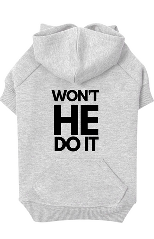 WON'T HE DO IT - HOODIE