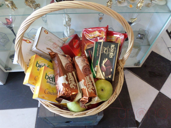 Apple and Honey Basket