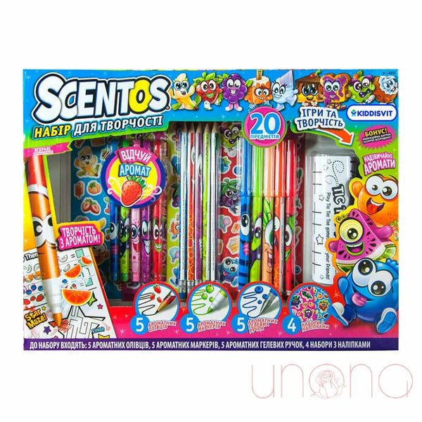 Aromatic Set For Creativity Scentos Fruitmania Toys