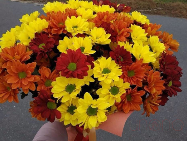 Fall Chrysanthemums Bouquet