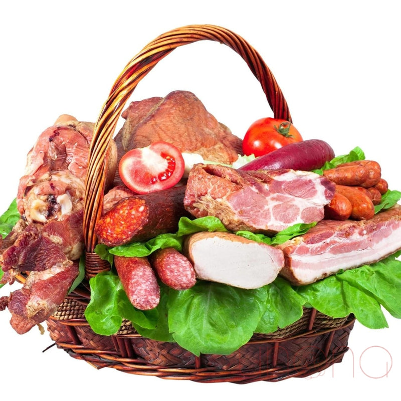 Grand Smoked Meat and Vegetables Basket
