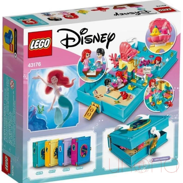Lego Disney Princess Fairy Tale Adventure Book Ariel Toys