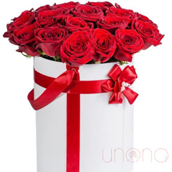 25 Roses in a Box - Ukraine Gift Delivery