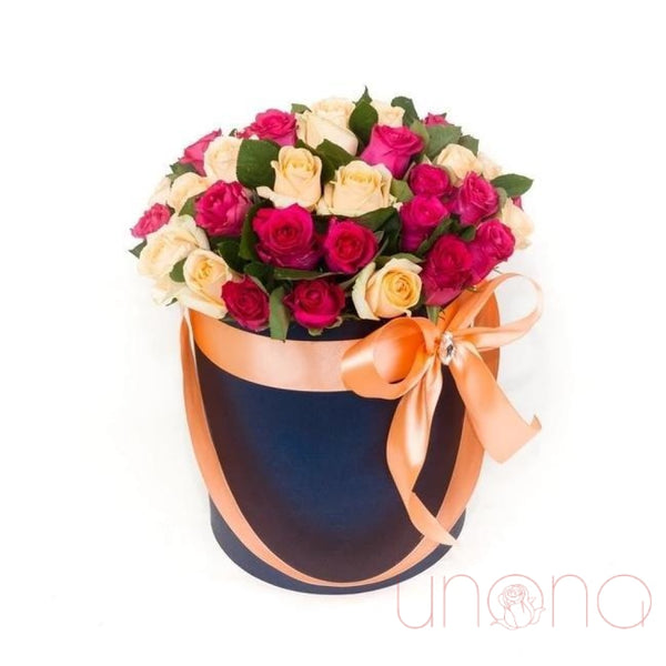 Splendid 35 Roses Gift Box
