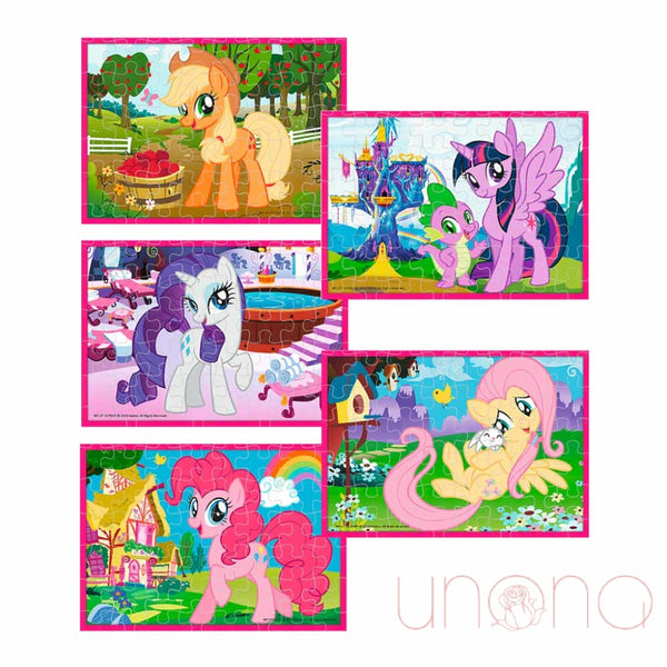 Trefl Puzzle My Little Pony 10 In 1 The Magic World Of Ponies Toys