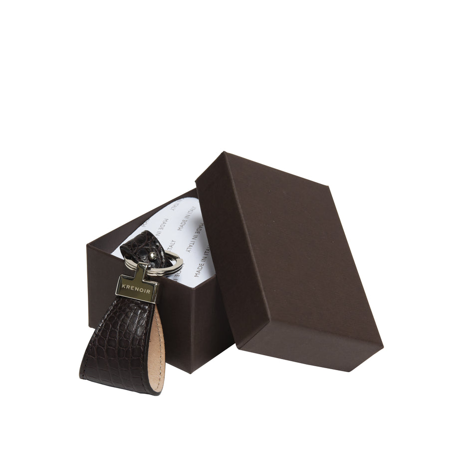 Marino Dark Brown Matte Key Holder