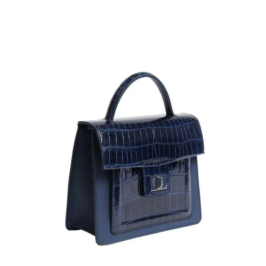 Dark Navy Shine Medium Kandie
