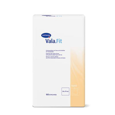 Vala Fit Bib (100pcs, Kangaroo Pocket, Disposable) | nappycare