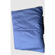 Load image into Gallery viewer, Cooling Cotton Weighted Blanket Cover in Blue