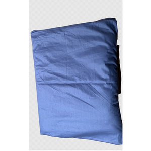 Cooling Cotton Weighted Blanket Cover in Blue