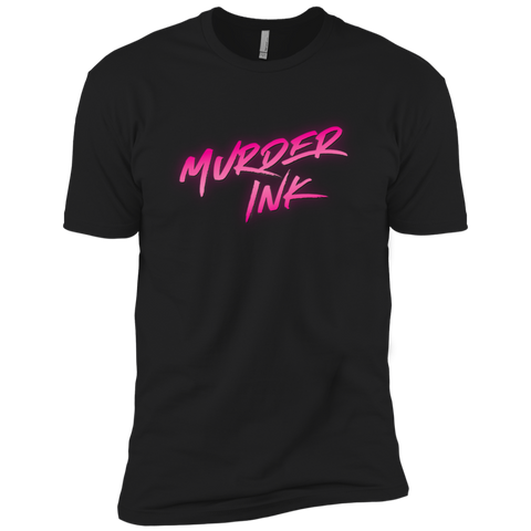 Murder Ink Black Men's T