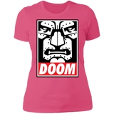 OBEY DOOM! Ladies' Boyfriend T-Shirt