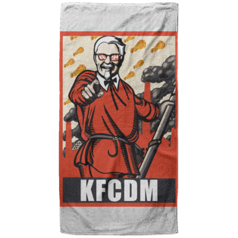 KFCDM Beach Towel - 37x74