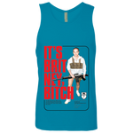 Britney Bitch Mens' Tank Black Print