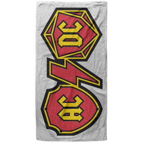 ACDC Beach Towel - 37x74