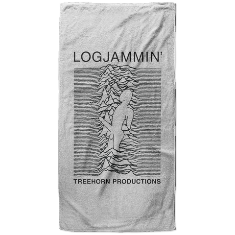 Log Jammin' Beach Towel - 37x74