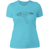 Spock Perfection Ladies' T (Black Imprint)