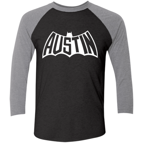 Austin Bat Baseball T (White Imprint)
