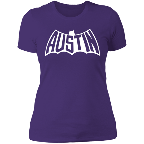 Austin Bat Ladies' T (White Imprint)