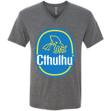 Cthulhu Banana Men's Triblend V-Neck T-Shirt