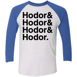 Hodor Baseball T (Black Imprint)