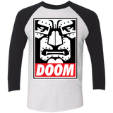 OBEY DOOM Baseball T