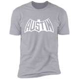 Austin Bat Mens T (White Imprint)