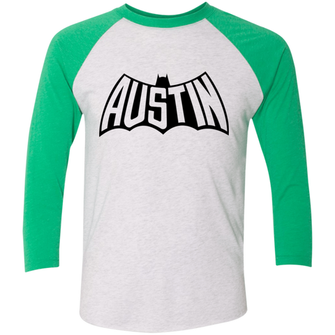 Austin Bat Baseball T (Black Imprint)
