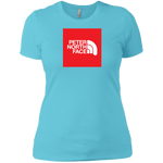 Peter North Face Red Square Ladies' T