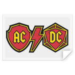 ACDC Rectangle Sticker