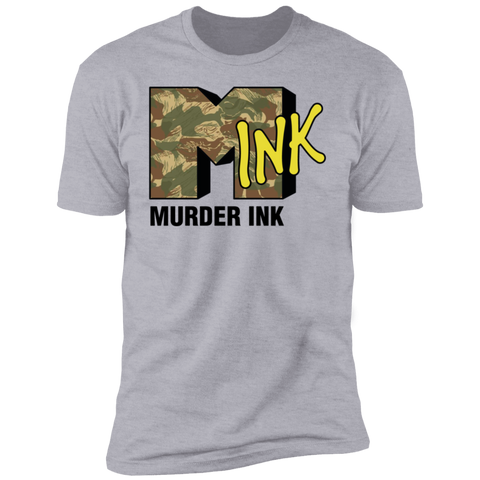 Murder Ink Retro (Mink) Premium Short Sleeve T-Shirt