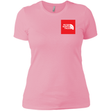 Peter North Face Ladies' Chest Print T