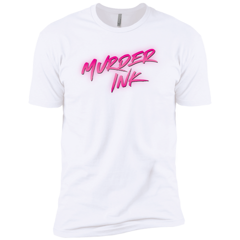 Murder Ink White Men's T
