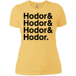 Hodor Ladies' T (Black Imprint)