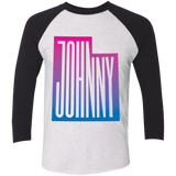 Johnny Utah 3/4 Sleeve Baseball T