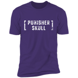 PUNISHER SKULL WHITE INK