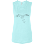 Spock Perfection Ladies' Tank (Black Imprint)