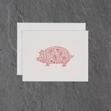 Load image into Gallery viewer, festive pig